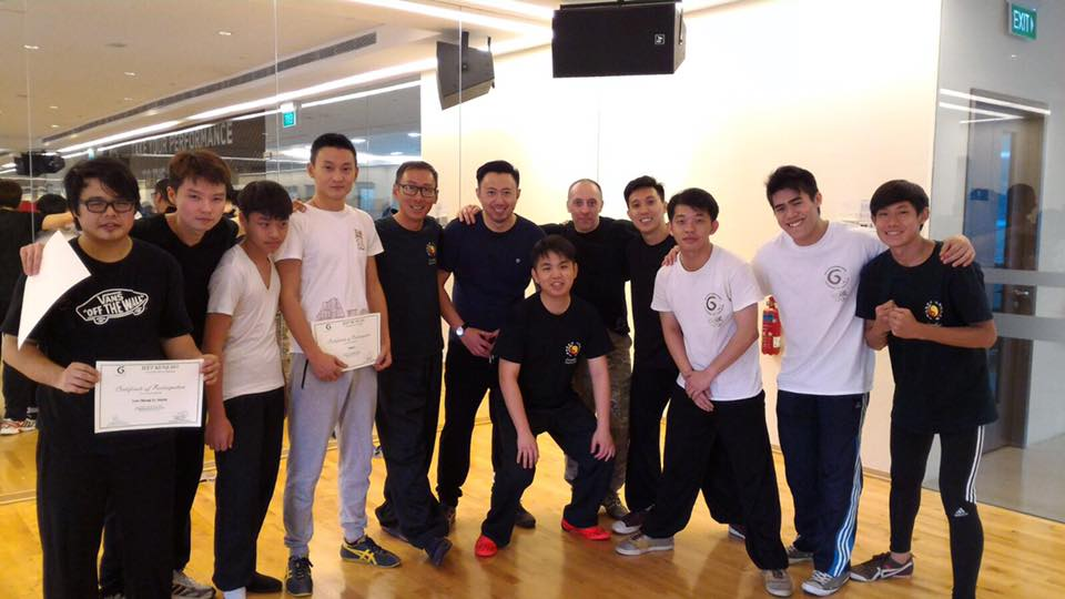 Nico's JKD Training Group 2015