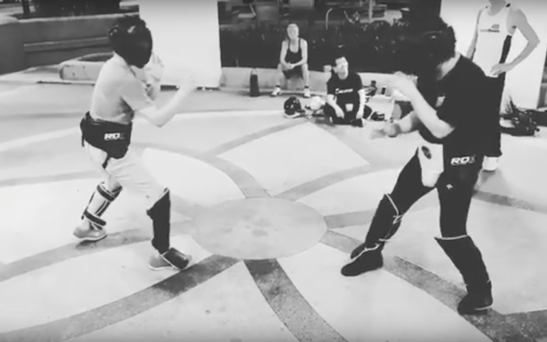 Attack by Combination in Jeet Kune Do